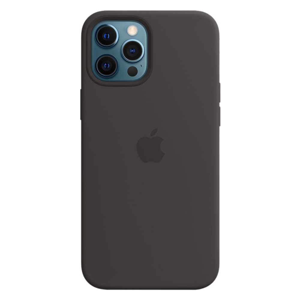 Силиконовый чехол Apple MagSafe для iPhone 12 Pro Max 2020 Black