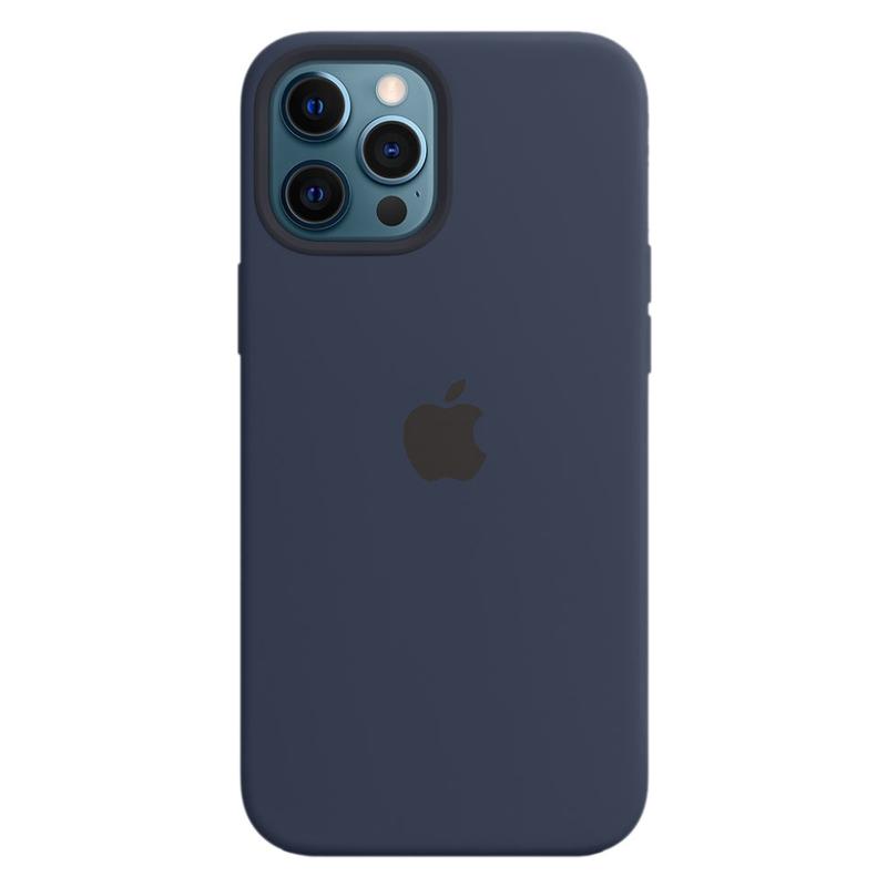 Силиконовый чехол Apple MagSafe для iPhone 12 Pro Max 2020 Deep Navy