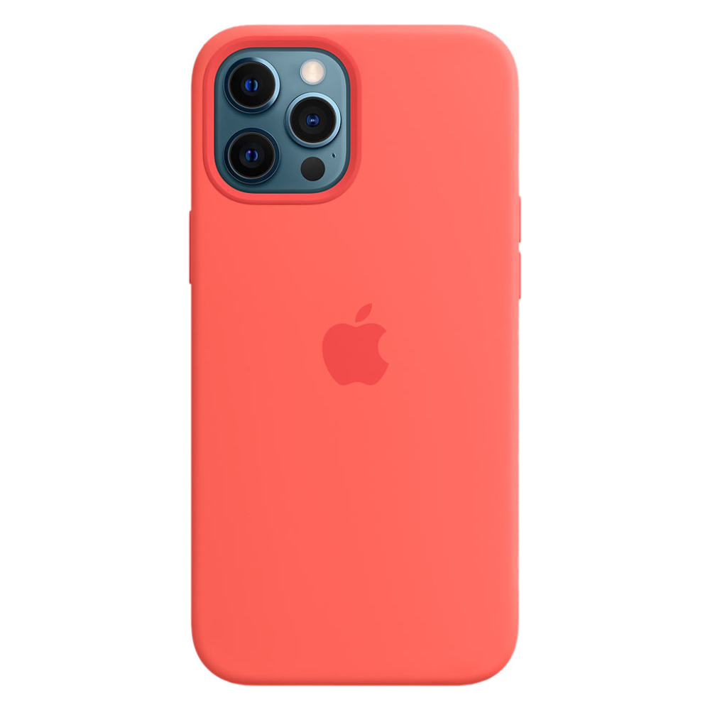 Силиконовый чехол Apple MagSafe для iPhone 12 Pro Max 2020 Pink Citrus