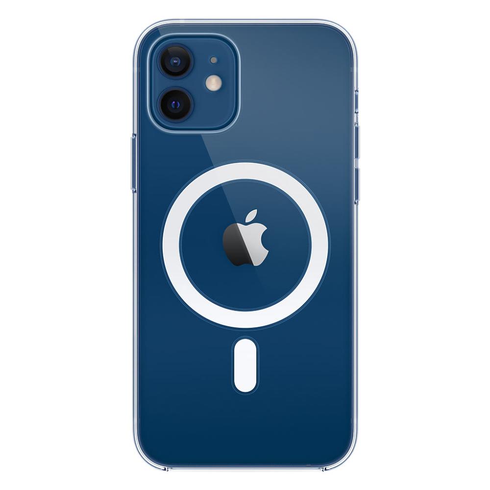 Силиконовый чехол Apple MagSafe для iPhone 12/12 Pro 2020 Clear Case