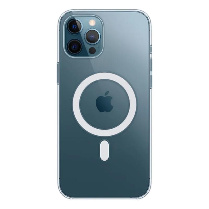 Силиконовый чехол Apple MagSafe для iPhone 12 Pro Max 2020 Clear Case