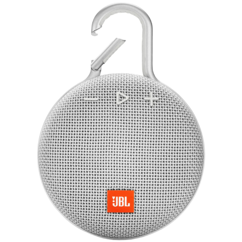 Портативная акустика JBL CLIP 3, Steel White