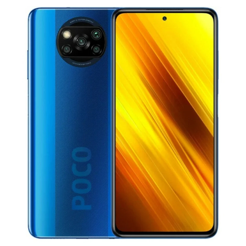 Xiaomi Poco X3 NFC 6/64GB Cobalt Blue