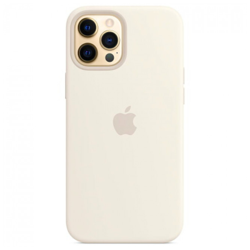 Чехол для iPhone 12 Pro Max Silicon Case Protect (Белый)