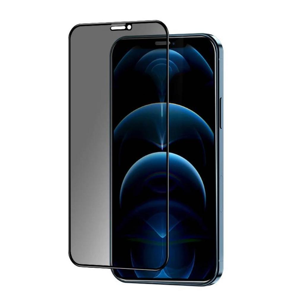 Защитное стекло  для iPhone 12 Pro Max (Антишпион)