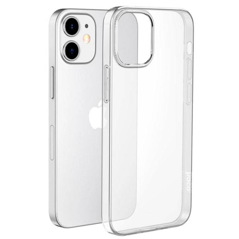 Чехол-накладка Hoco Light для iPhone 12 mini прозрачный