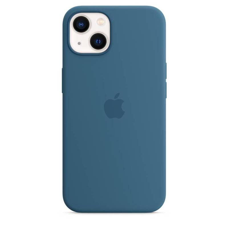 Силиконовый чехол MagSafe для iPhone 13, цвет «полярная лазурь»
