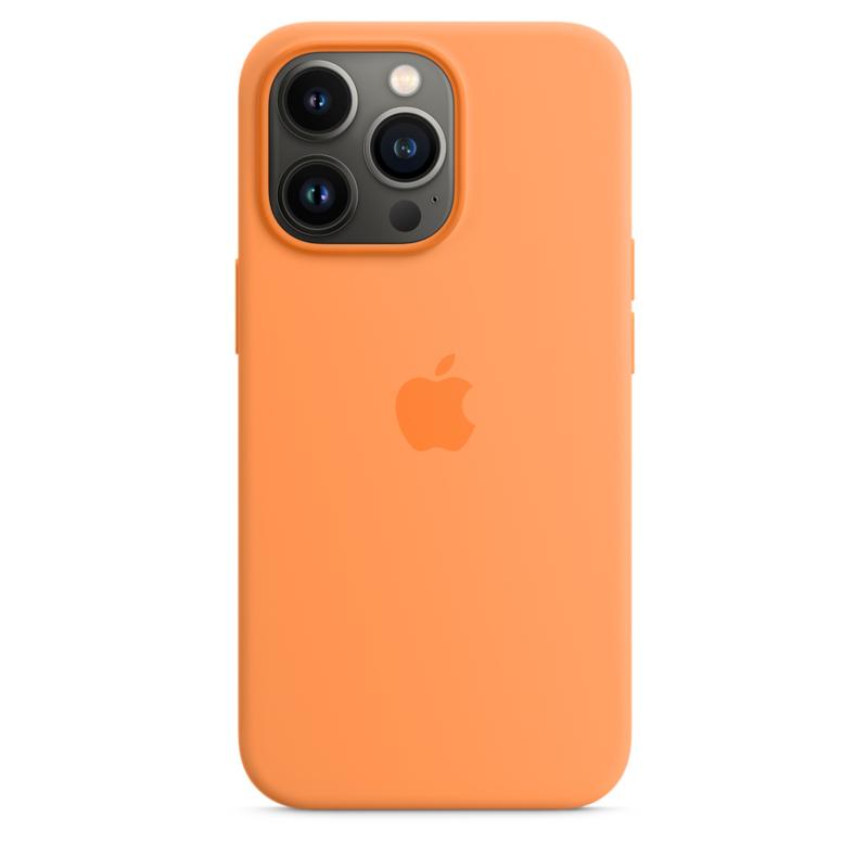 Силиконовый чехол MagSafe для iPhone 13 Pro, цвет «весенняя мимоза»
