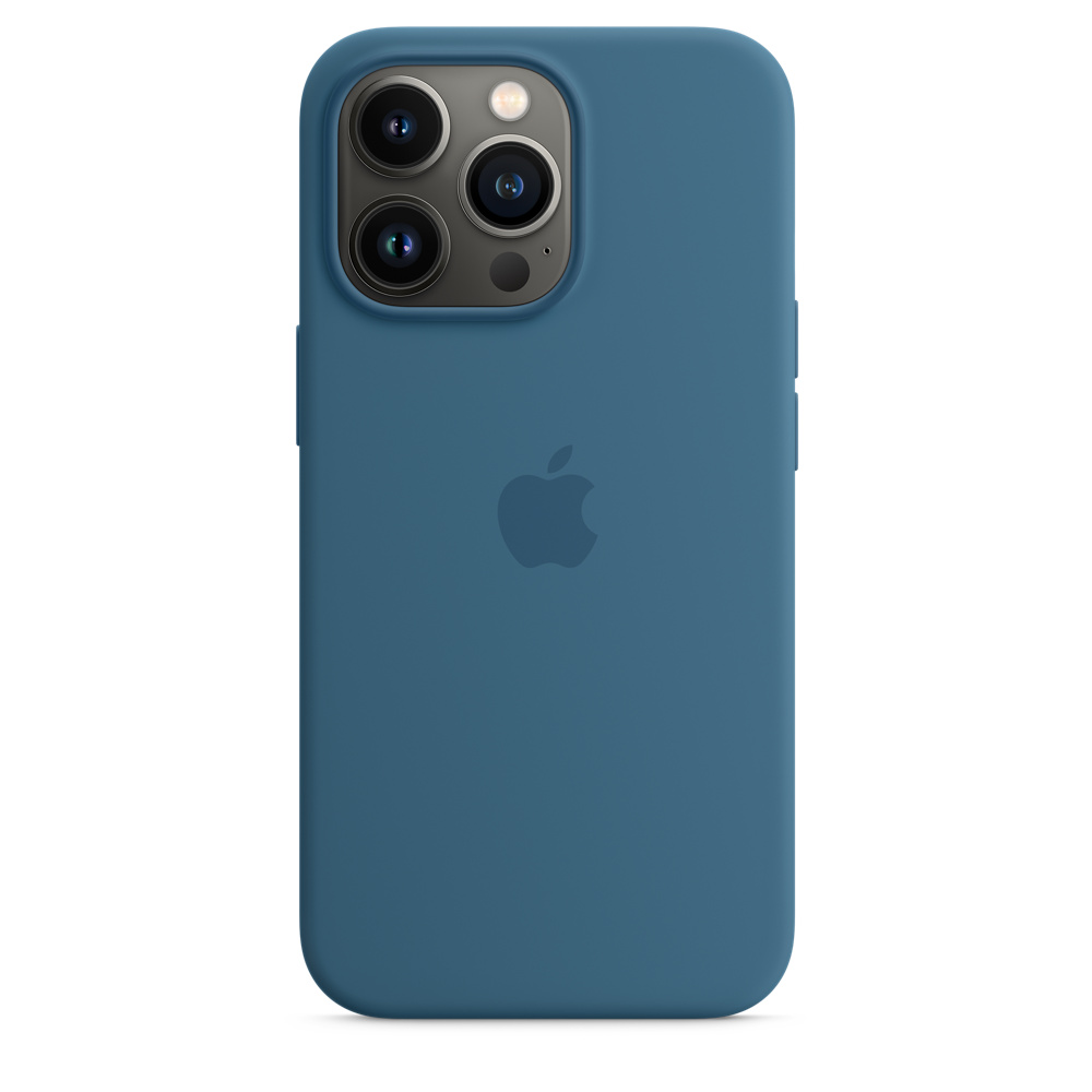 Силиконовый чехол MagSafe для iPhone 13 Pro, цвет «полярная лазурь»