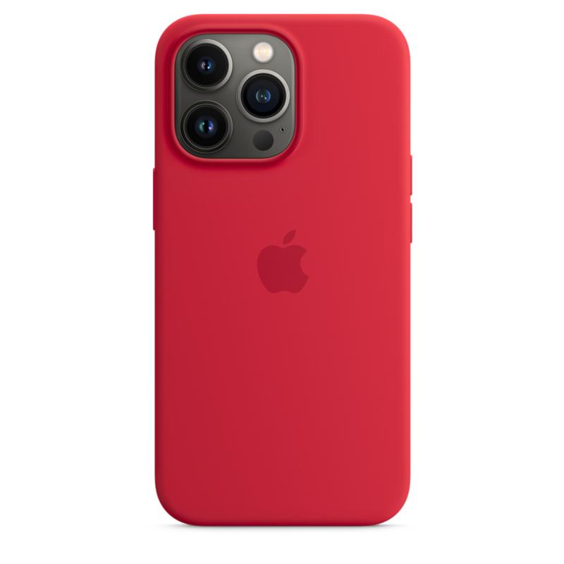 Силиконовый чехол MagSafe для iPhone 13 Pro, цвет (PRODUCT)RED