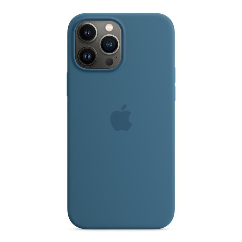 Силиконовый чехол MagSafe для iPhone 13 Pro Max, цвет «полярная лазурь»