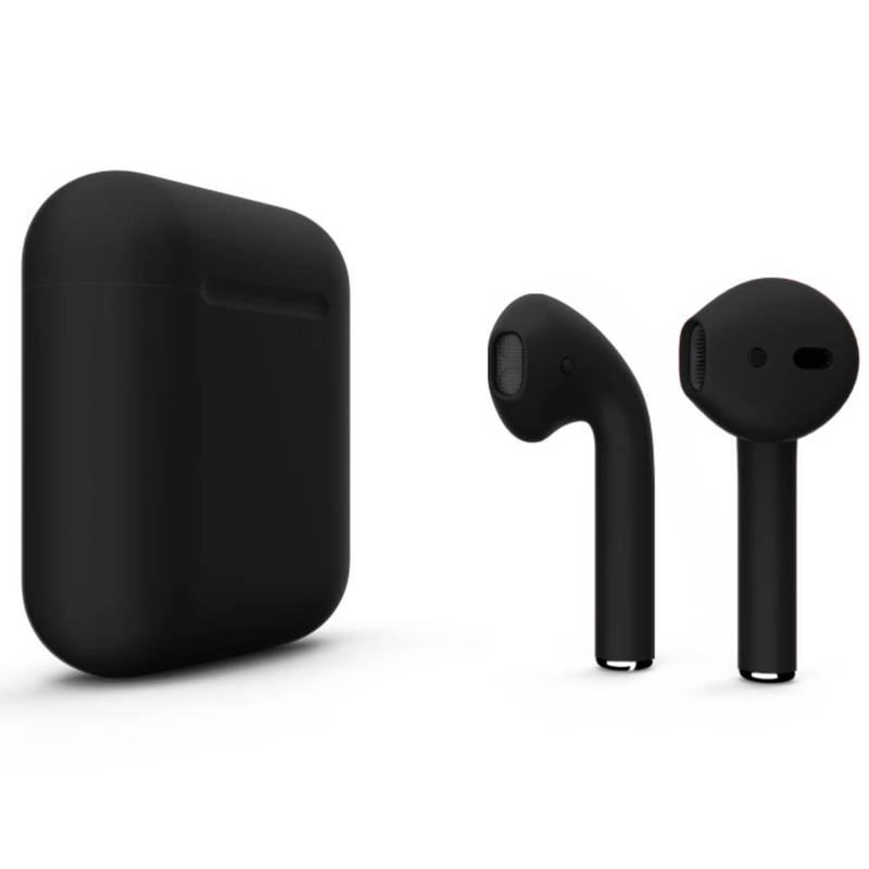 Беспроводные наушники Apple AirPods 2 Color (без беспроводной зарядки чехла) Black Matte