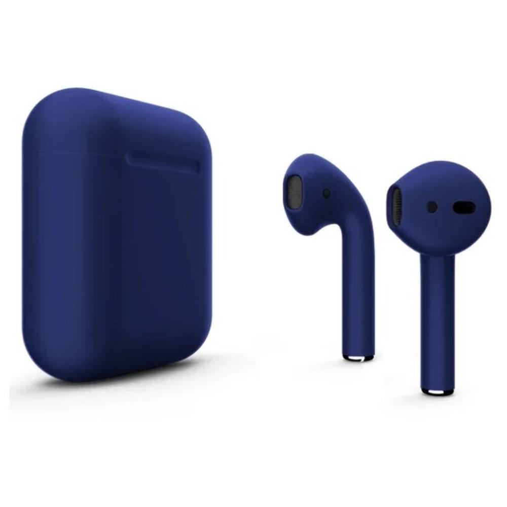 Беспроводные наушники Apple AirPods 2 Color (без беспроводной зарядки чехла) Dark Blue Matte