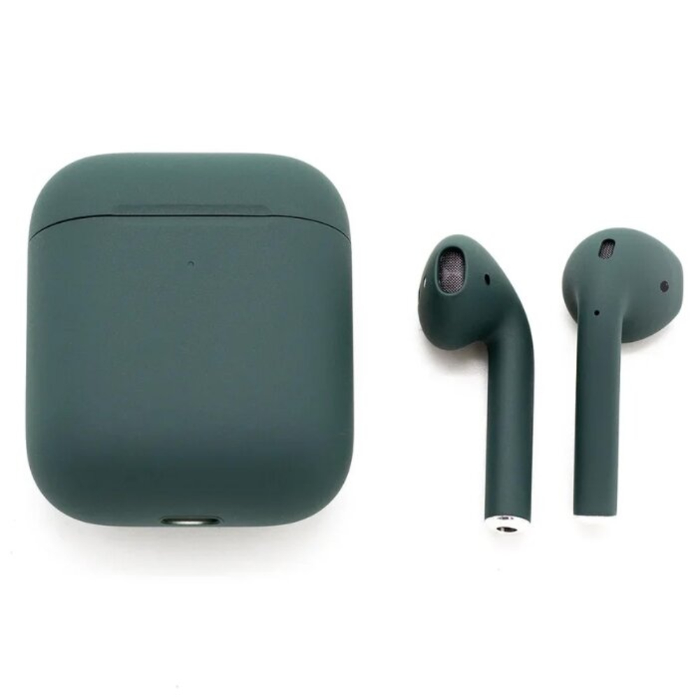 Беспроводные наушники Apple AirPods 2 Color (без беспроводной зарядки чехла) Dark Green Matte