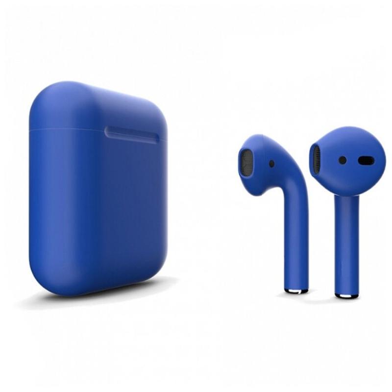 Беспроводные наушники Apple AirPods 2 Color (без беспроводной зарядки чехла) Blue Matte