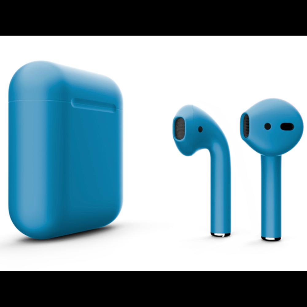 Беспроводные наушники Apple AirPods 2 Color (без беспроводной зарядки чехла) Light Blue Matte