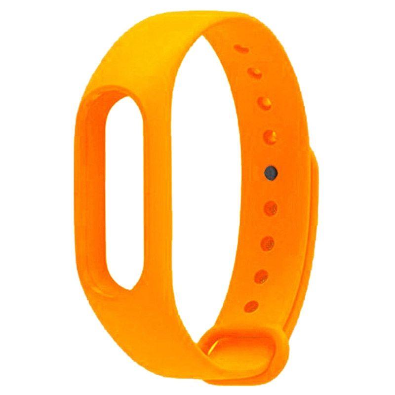 Ремешок для  Xiaomi Mi Band 2 (оранжевый)