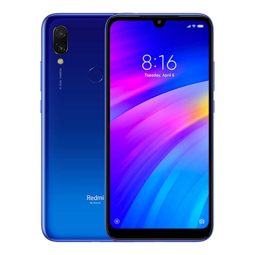 Xiaomi Redmi 7 2/16Gb Blue (Global Version)